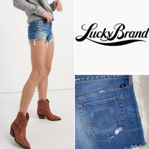 Lucky Brand••The Cut Off jean shorts